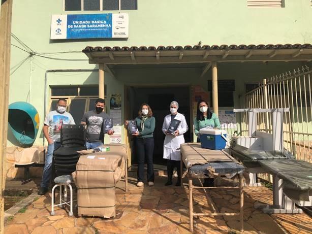 Doação de instrumentos para as Unidades Básicas de Saúde de Ouro Preto (MG)
