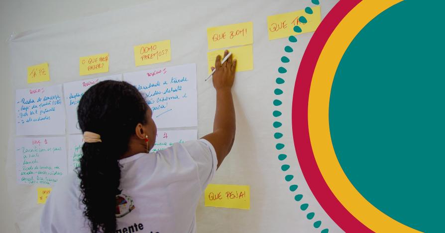 Register of one of the health workshops offered in Pará and Maranhão.